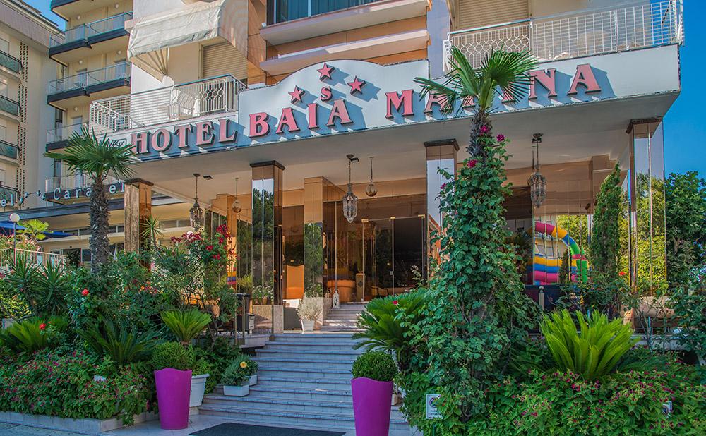 Hotel Baia Marina Cattolica 3 Stelle Superior vicino al Mare